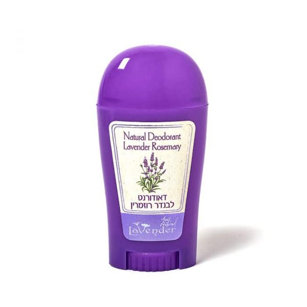 Natural lavender deodorant stick from Lavender All Natural Cosmetics