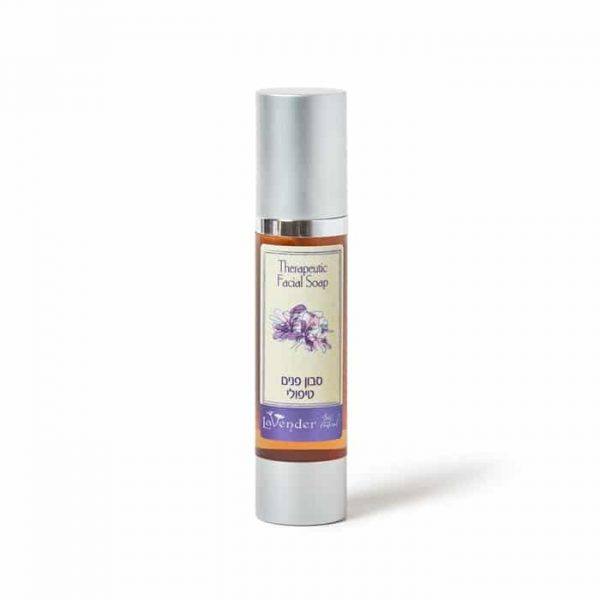 Natural face wash for oily skin with tea tree oil from Lavender All Natural Cosmetics
