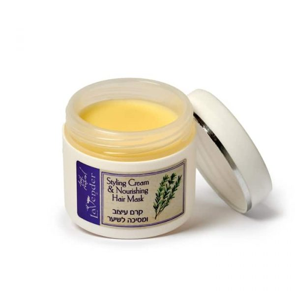 Natural Hair cream for curly hair treatment - Lavender All Natural Cosmetics
