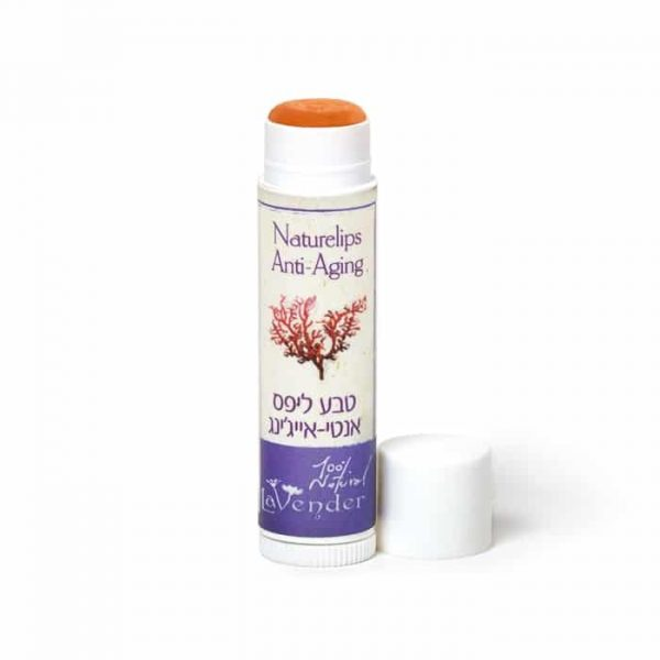 anti aging vegan lipbalm with Astaxanthin from Lavender All Natural Cosmetics