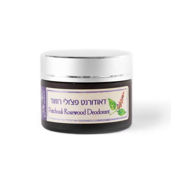 all natural deodorant cream pathcouli rosewood