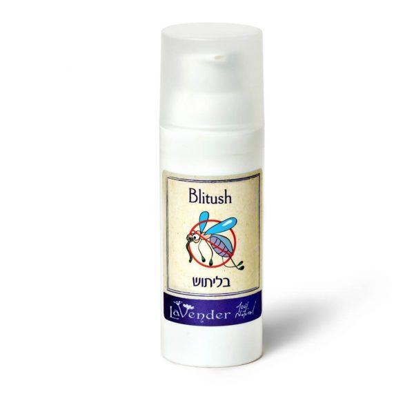 blitush natural mosquito repellent cream from lavender all-natural cosmetics