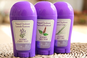 all natural deodorants stick from lavender natural cosmetics