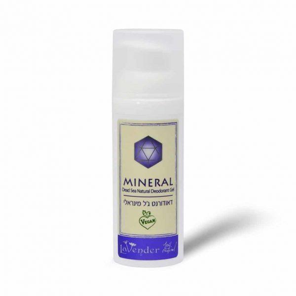 natural deodorant dead sea mineral gel